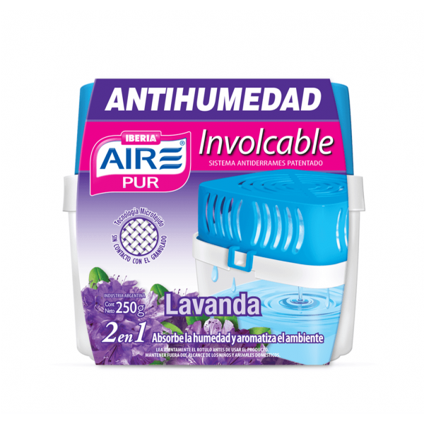 Aire Pur antihumedad involcable 250 grs.